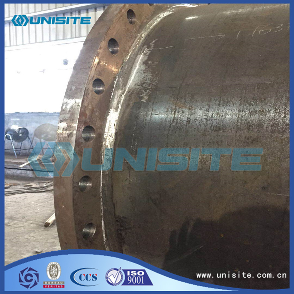 Straight Structural Steel Pipe With Flange