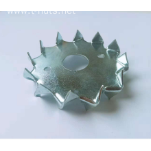 Zinc plated Stamping Double-sided tooth washer