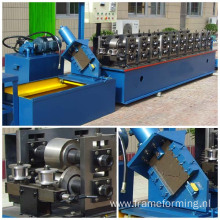 Ceiling stud and track iron roll forming machine