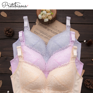 Pregnant women lace maternity breastfeeding bras