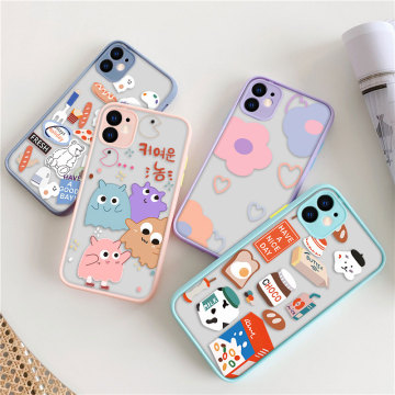3D DIY Painted Case for iphone 12 Pro Max Cases 11 shell Case Luxury Cartoon Phone Cover On iphone XR XS Max X 7 8 SE 2020 Cover