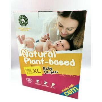Biodegradable Plant-based Customized Eco-friendly Diapers