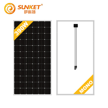 Mono solar panel 370w 390w pv High Efficiency