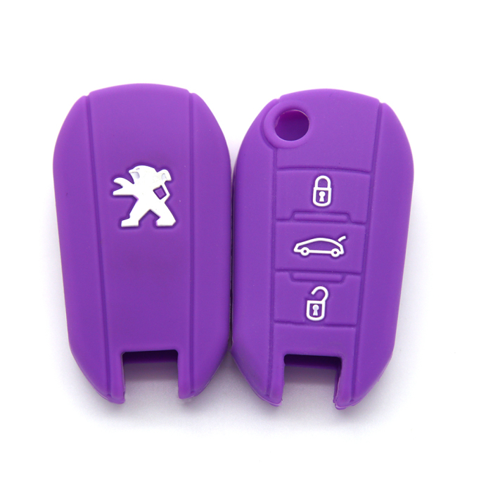 Colorful Key Cover Peugeot 3