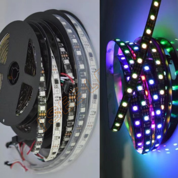 DC12V WS2811 IP65 Black Addressable Pixel LED Strip