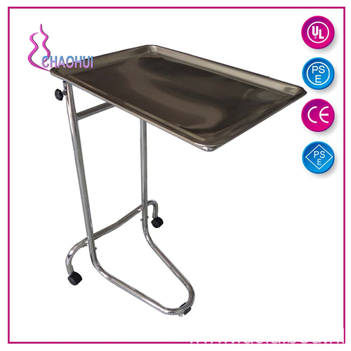 Adjustable Tattoo Stainless Steel Tray Table
