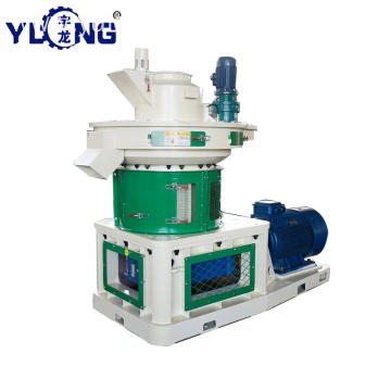YULONG XGJ560 biomass corn cob pellet mill
