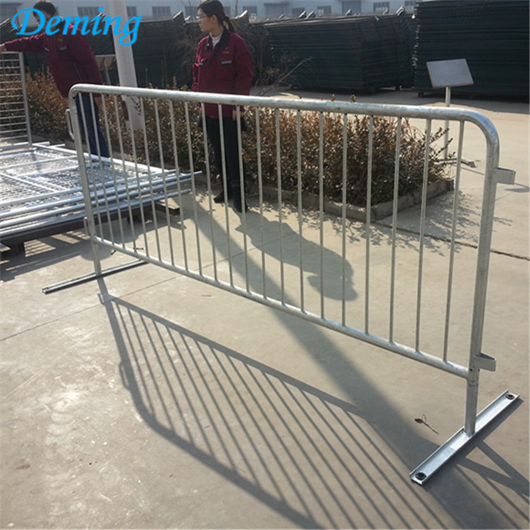 PVC Coated Security Traffic Crowd Control Barrier