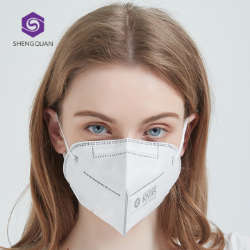 Folding Reusable  KN95 Face Mask Dust Proof