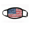 Flag Printed Recyclable Cotton Washed Protective Masks