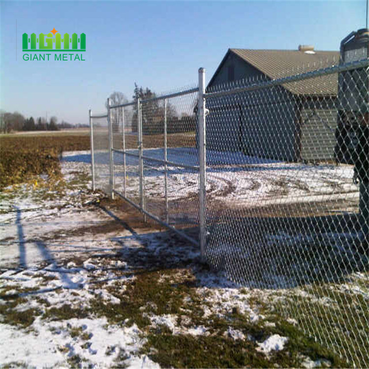 Used chain link fence slats