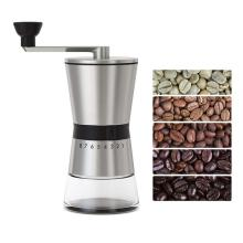 Manual Stainless Steel Hand Crank Grinding Conical Ceramic Coffee Grinder Mill Manual Coffee Grinders