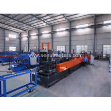 Automatic interchanged cz purlin roll forming machine