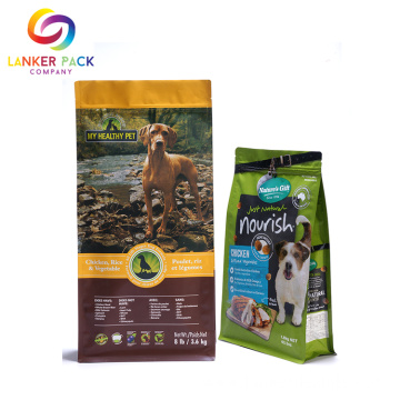 FAD Approved Custom Waterproof Pet Food Pouches