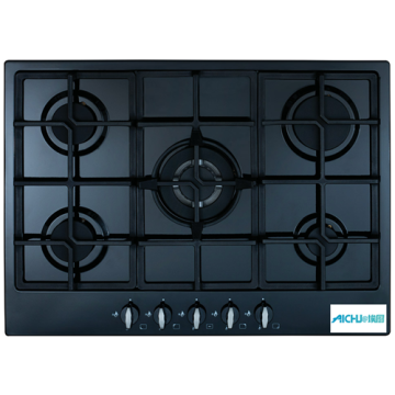 Gas on Glass Hob 5 Burner In Australia