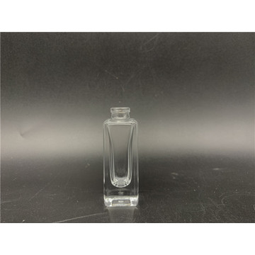 7.5ml Clear Square Glass Perfume Bottle With Spray