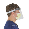 Full Face Clear Isolation Visor Face Shield transparent
