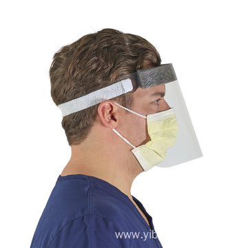 Safety Clear Hat Anti-Splash Saliva Face Shield