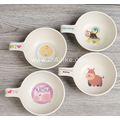 Colorful Fun Cartoon Character Bamboo Bowls