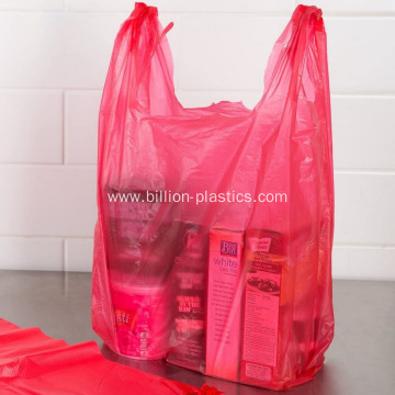 Clear Plastic Shopping Bags with Handles