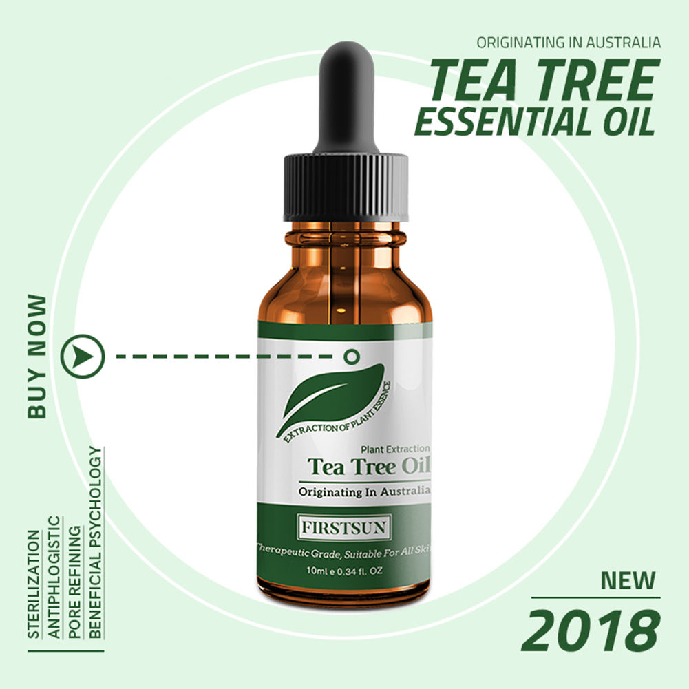 Natural Tea Tree Essential Oil Anti-wrinkle Acne Pores Removal Scars Treatment Anti Scar Spots Skin Care TSLM1