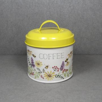 Home Basics Tin Kitchen Food Storage Canister