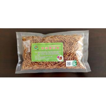 pet feed of yellow mealworm