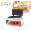 Pembuat Wafel Komersial NonStick Wafel Belgia