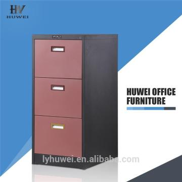 Vertical file cabinet office 3 drawer cabinet