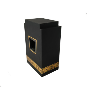 MDF Luxury Perfume Box Packaging with Velvet