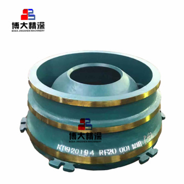 Spare parts bowl liner for Nordberg cone crusher