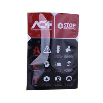 Aluminum Ziplock 3 Three Side Seal Pouch Bag For Nut