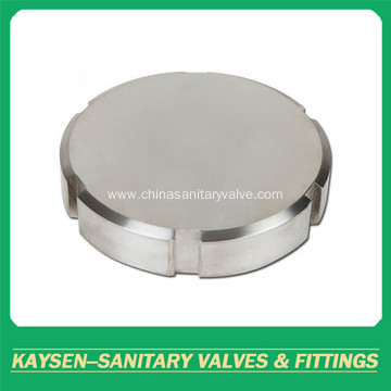 RJT Sanitary unions blind nut without chain