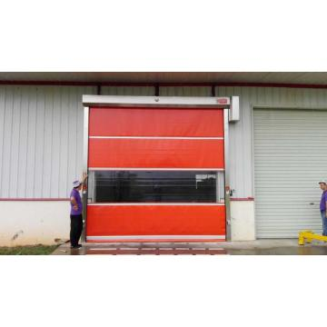 PVC Warehouse Door mei stielrâne