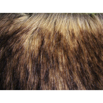 Tops Knitting Fabric Faux Fur
