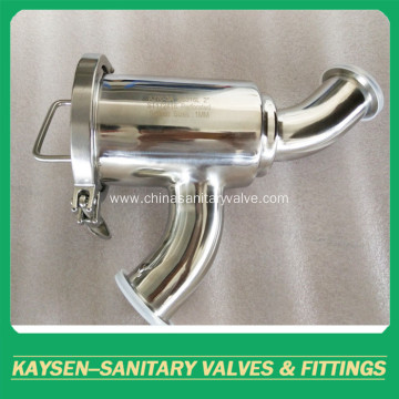 A270 3A Stainless Steel 316L Sanitary Strainers Y-Strainer