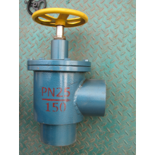 Steel Right Angle Globe Valve/ Throttle Valve