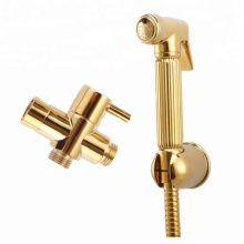 Golden Brass HandHeld Bidet Sprayer