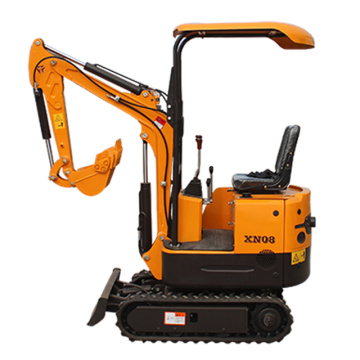 Mini Excavator 0.8 Xn08 Bagger Machine Garten Bagger Made In China Mini Digger
