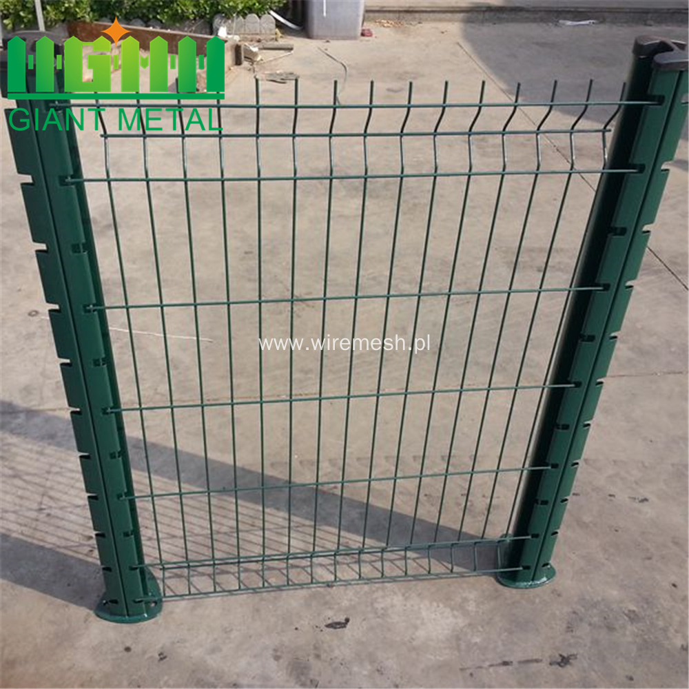 Curve Corrosion Resistance Bending Welded Colorful  Fence