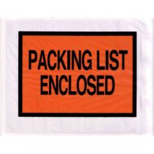 Customized packing list envelope packing list enclosed plastic envelope