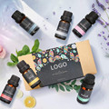 Customized Logo label package Essential Oil Gift set