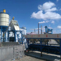 HZS50 precast ready mixed small concrete batching plant