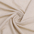 Fashional Silver Nylon Wre Knitted jacquard Fabric