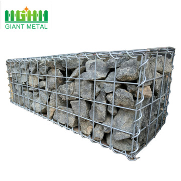Hot dipped galvanized wire mesh stone gabion