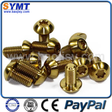 GR2 M3 Titanium Torx Head self-tapping screws