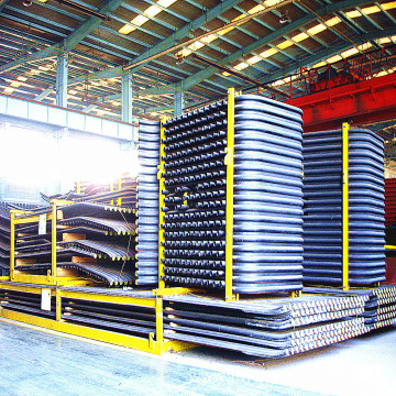Water-wall Tube Panels for Power Boilers