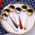 Korean Coffee Tea Table Mini Stainless Steel Spoons