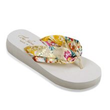 Women's Beach Wedge Flip Flops Sandals