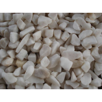 Pure White Natural Pebble Stone for Decoration Garden